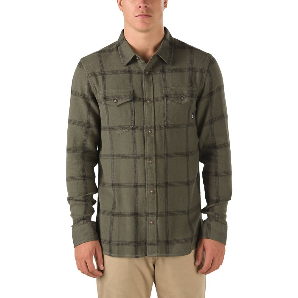 Vans Wayland II Shirt (Men's) - Grape Leaf/Black