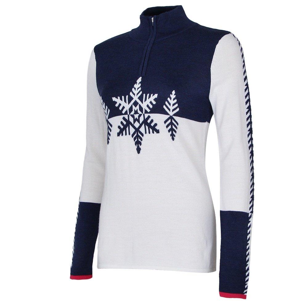 Krimson Klover Marta Half Zip Sweater (Women's) - Indigo