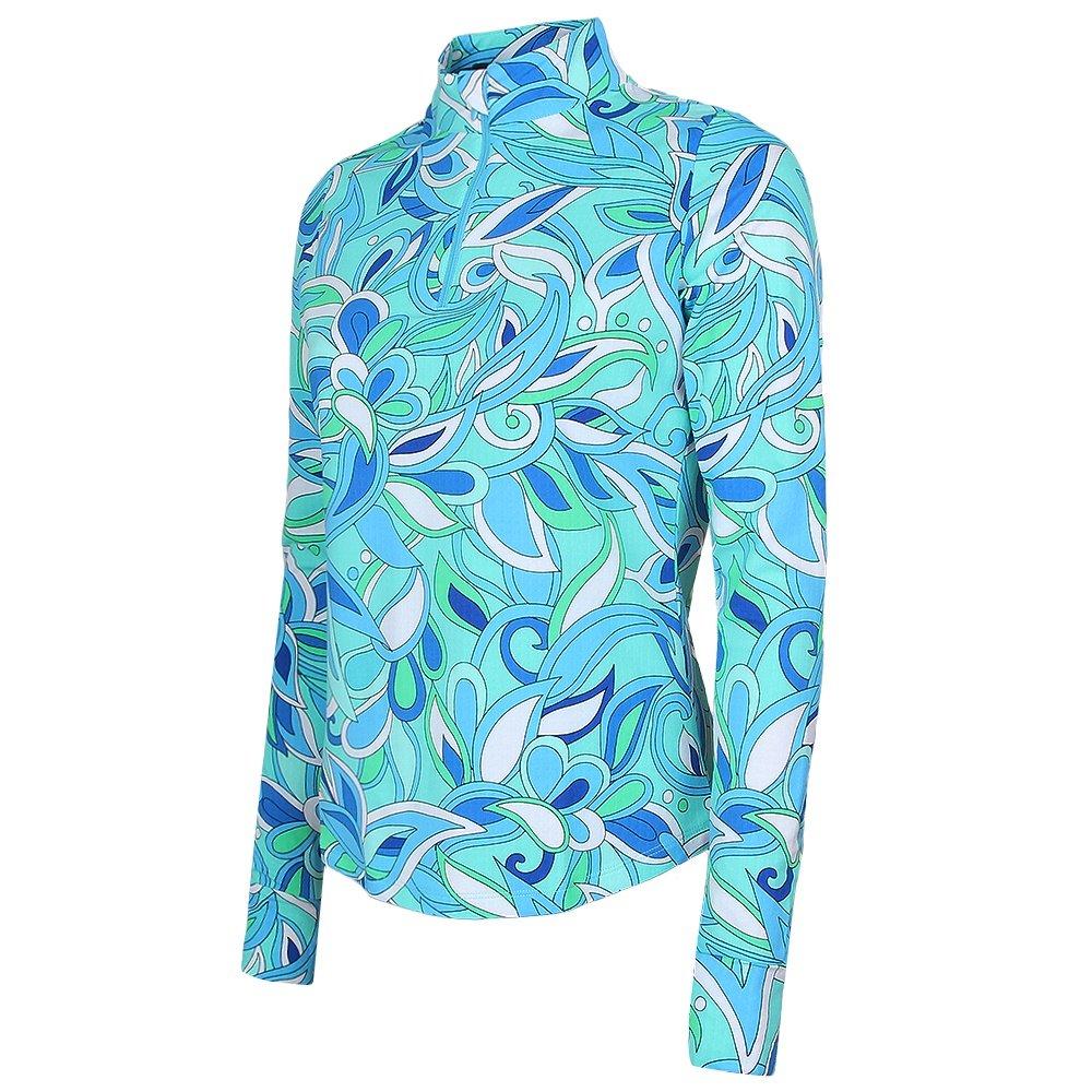 IBKUL UBHOT Long Sleeve Half Zip Turtleneck Mid-Layer (Women's) -
