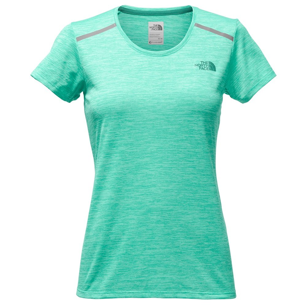 The North Face Adventuress Tee Shirt (Women's) - Pool Green Heather