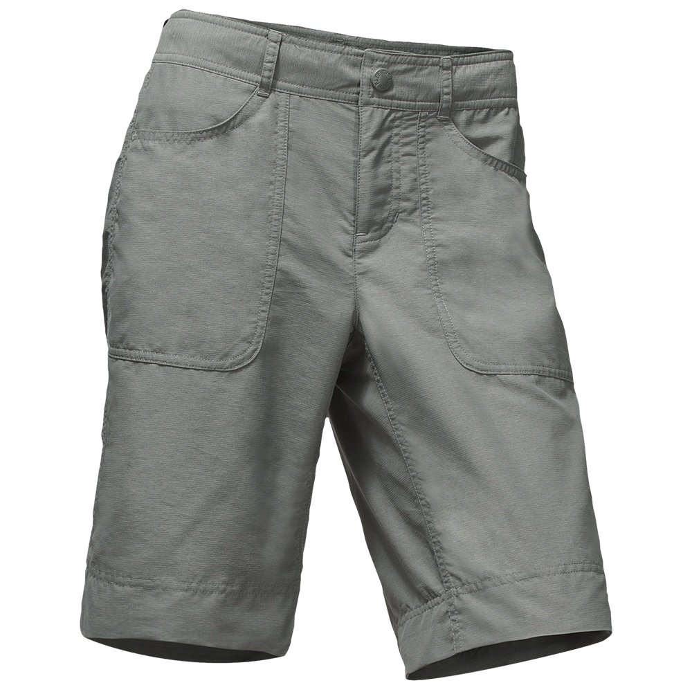 The North Face Horizon 2.0 Roll-Up Shorts (Women's) - Sedona Sage Grey Heather