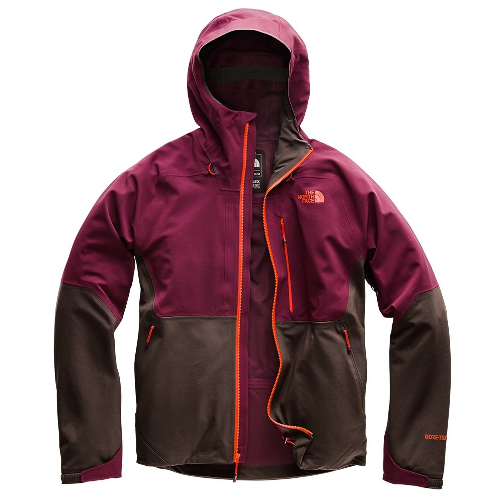 The North Face Apex Flex GORE-TEX 2.0 Shell Jacket (Men's) - Fig/Bittersweet Brown