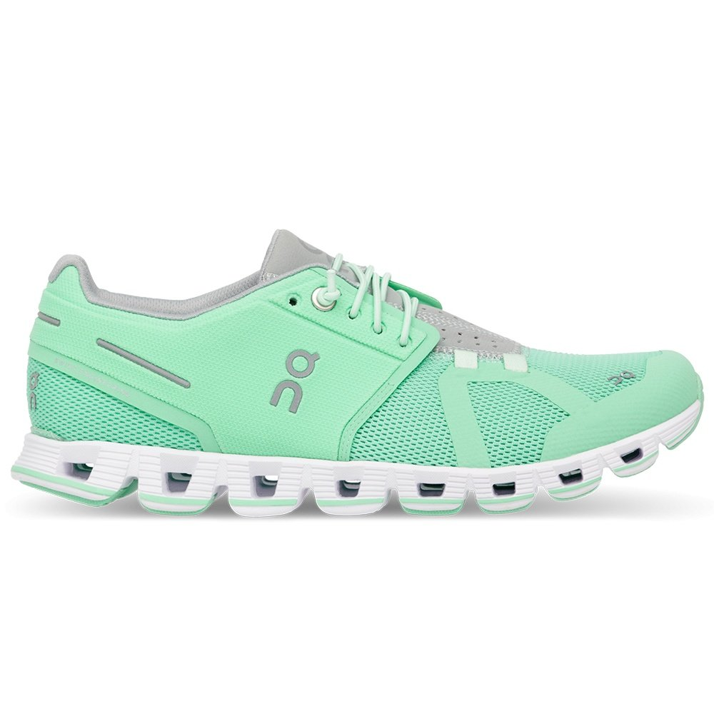 On Cloud Running Shoes (Women's) - Mint