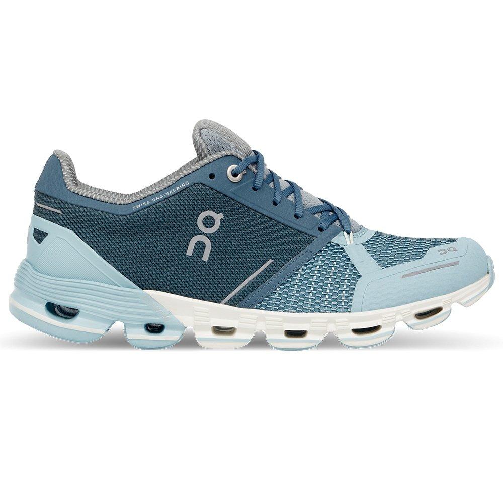 On Cloudflyer Running Shoe (Women's) - Aqua/White