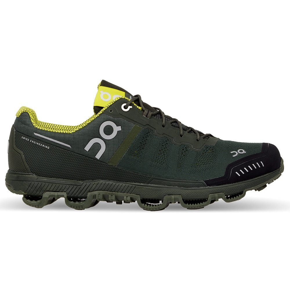 On Cloudventure Trail Running Shoes (Men's) - Forest/Sulphur