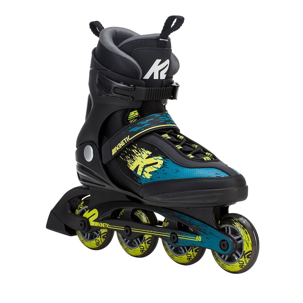 K2 Kinetic 80 Inline Skates (Men's) - Black/Granite