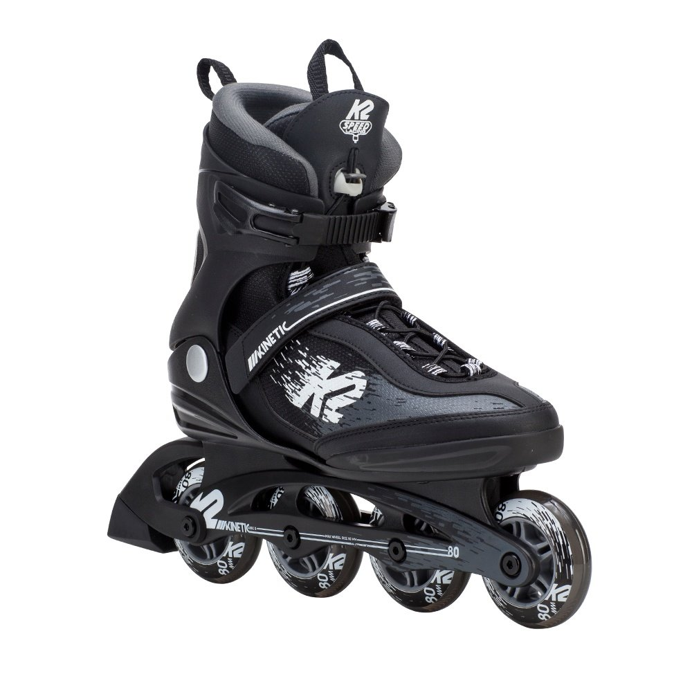K2 Kinetic 80 Pro Inline Skates (Men's) - Black/White