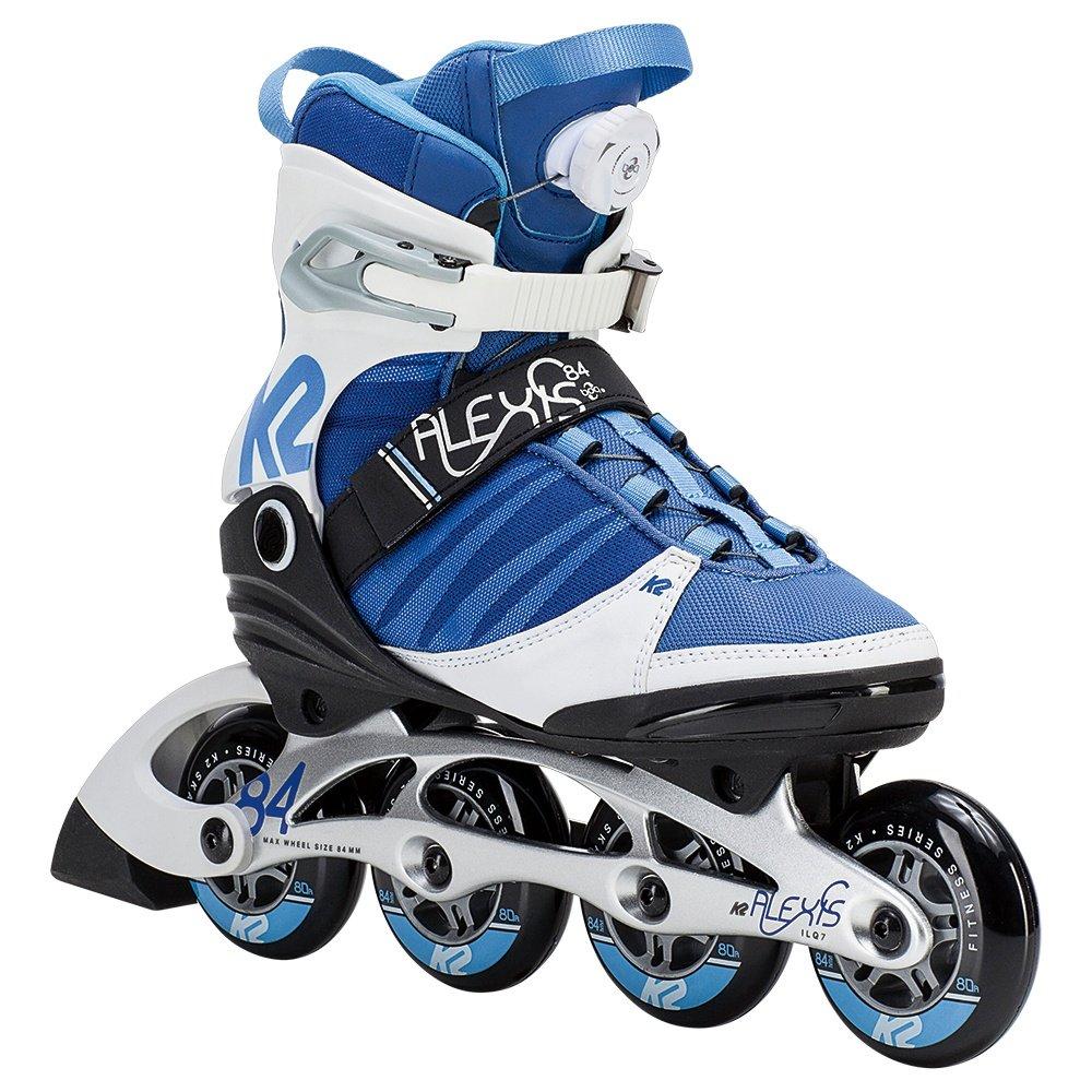 K2 Alexis 84 Boa Inline Skates (Women's) - Blue/White