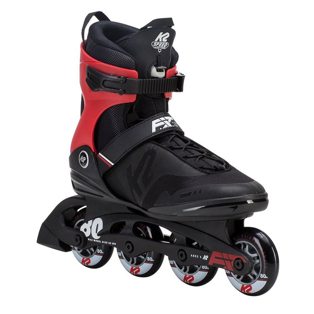 K2 F.I.T 80 Pro Inline Skates (Men's) - Black/Red