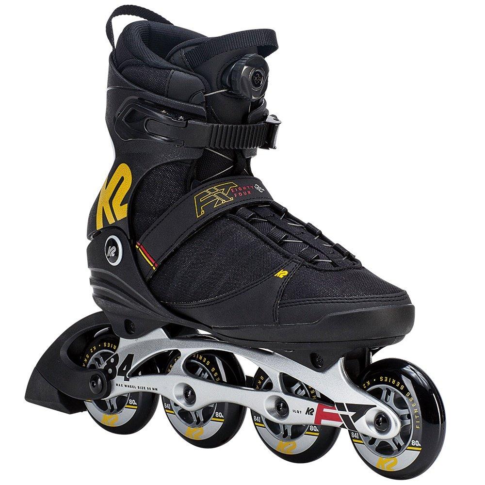 K2 F.I.T Boa Inline Skates (Men's) - Black/Yellow/Red
