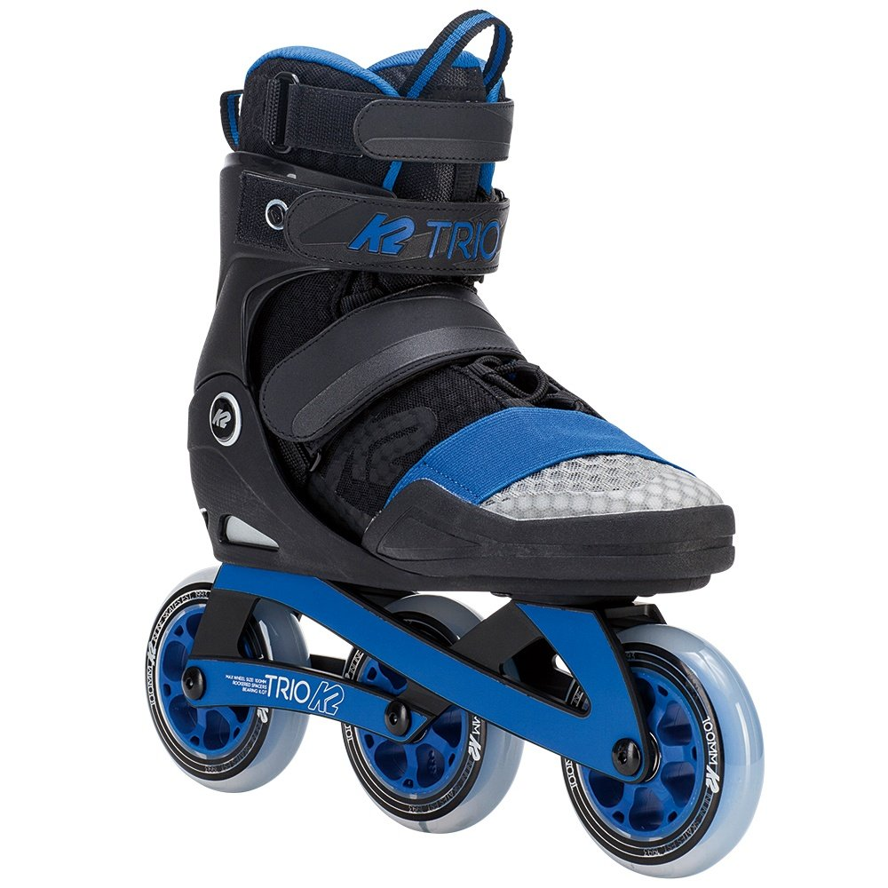 K2 Trio 100 Inline Skates (Men's) - Blue/Grey