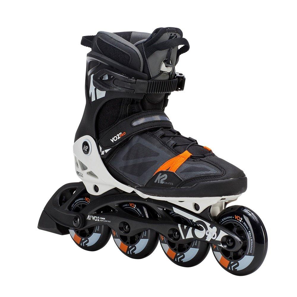 K2 VO2 90 Pro Inline Skates (Men's) - Black/White/Orange
