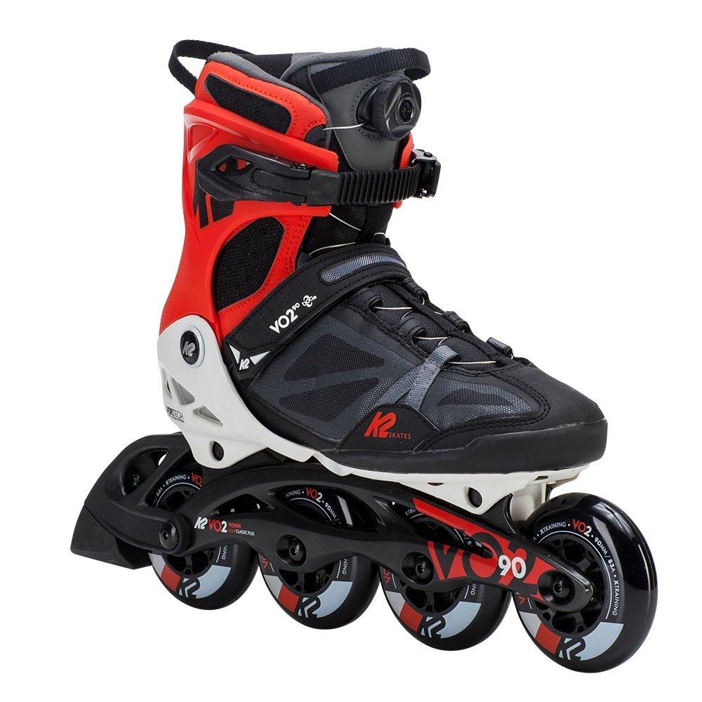 K2 VO2 90 Boa Inline Skates (Men's) - Black/White/Red