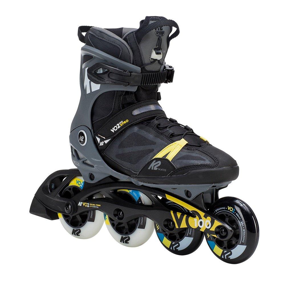K2 VO2 100 X Pro Inline Skates (Men's) - Black/Grey/Yellow