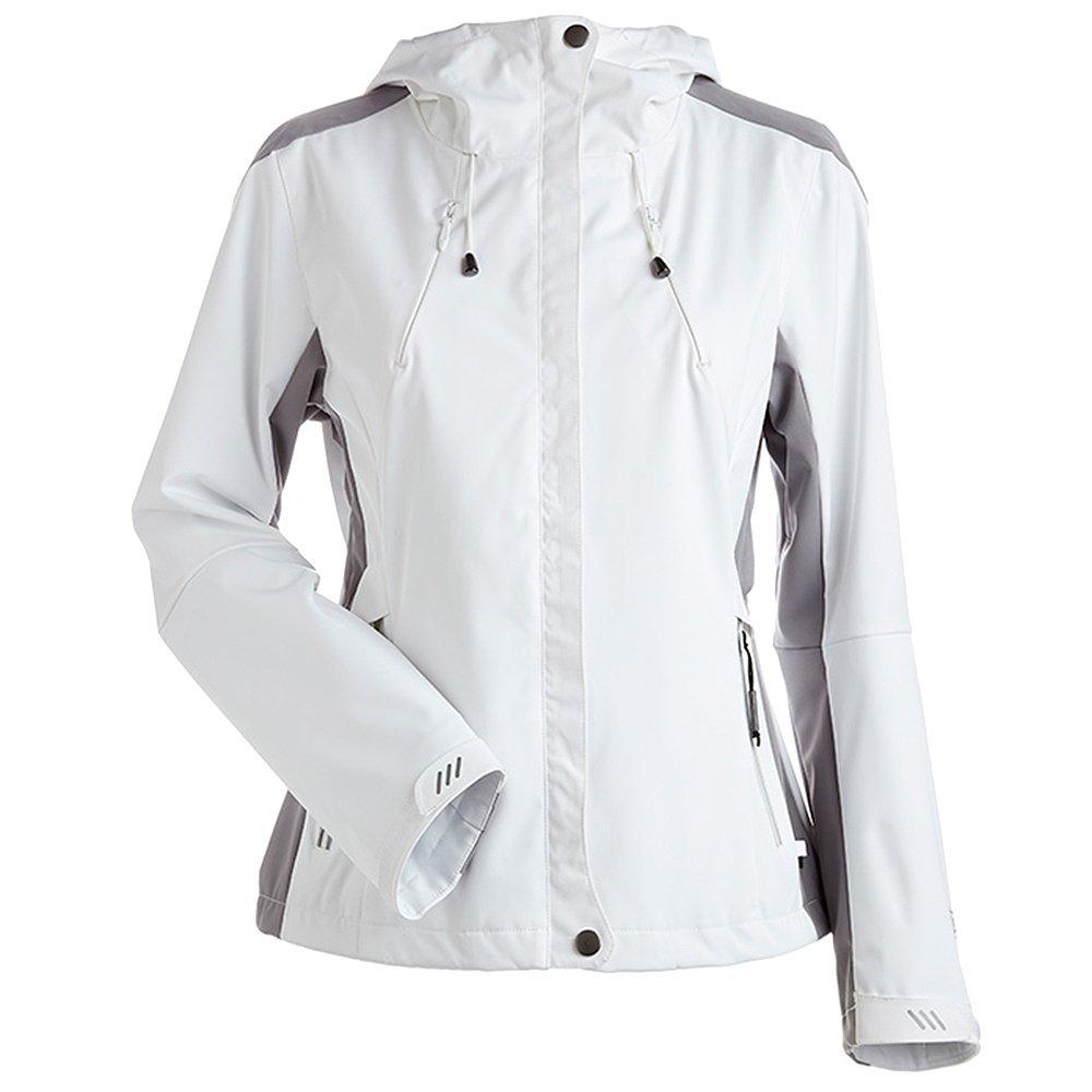 Nils Shar Shell Ski Jacket (Women's) - White/Steel Grey