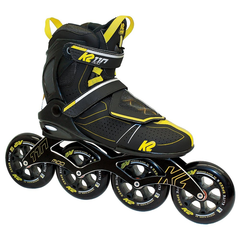 K2 Mod 110 Inline Skates (Men's) - Black/Yellow