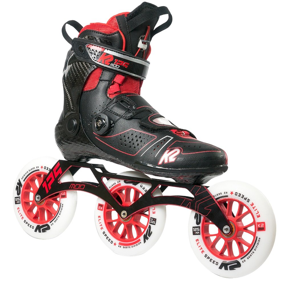 K2 Mod 125 Inline Skates (Men's) - Black/Red