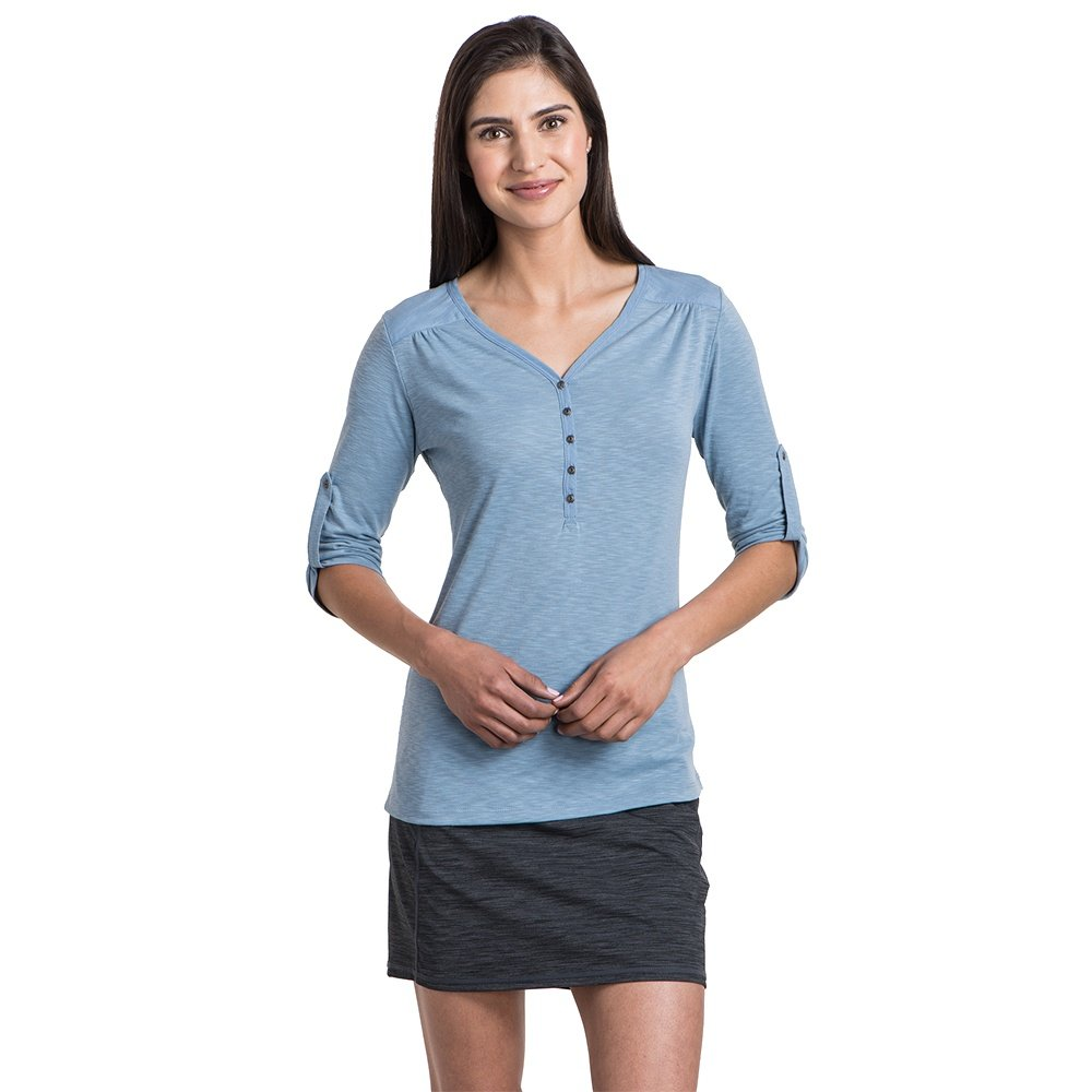 Kuhl Shasta 3/4-Sleeve Shirt (Women's) - Bellflower