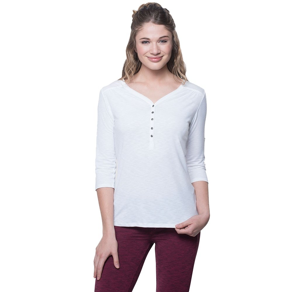 Kuhl Shasta 3/4-Sleeve Shirt (Women's) - White