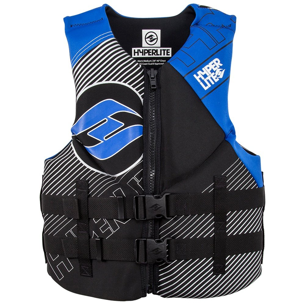 Hyperlite Indy Neoprene Life Vest (Men's) - Blue