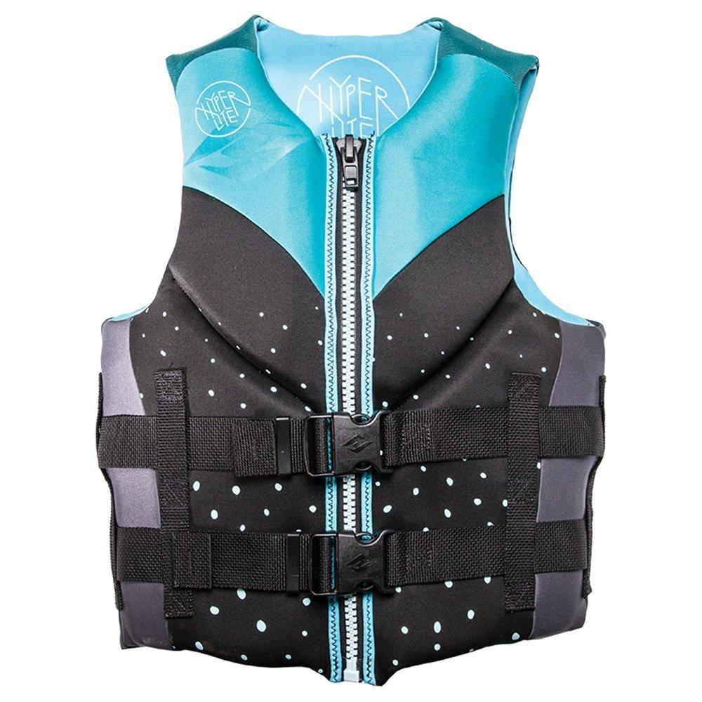 Hyperlite Indy Neoprene Life Vest (Women's) - Aqua
