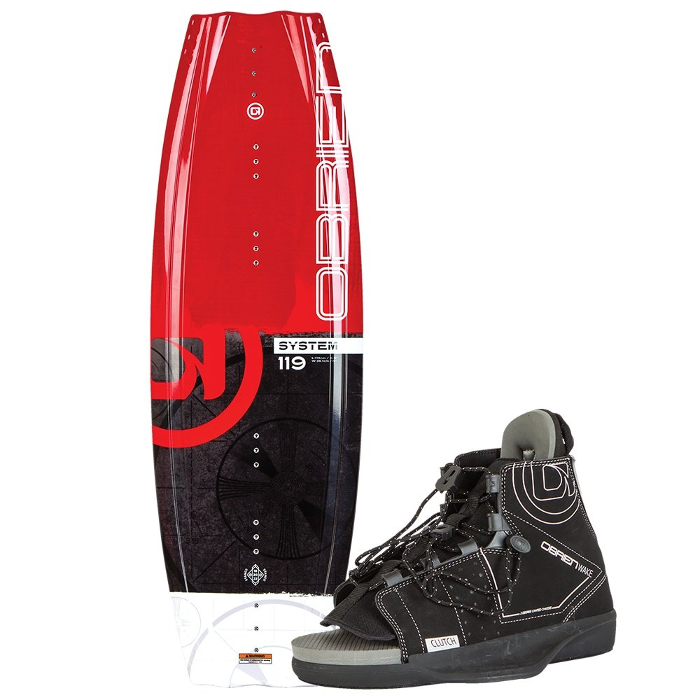 O'Brien 118 System Wakeboard Package with Clutch Boots (Kids') -