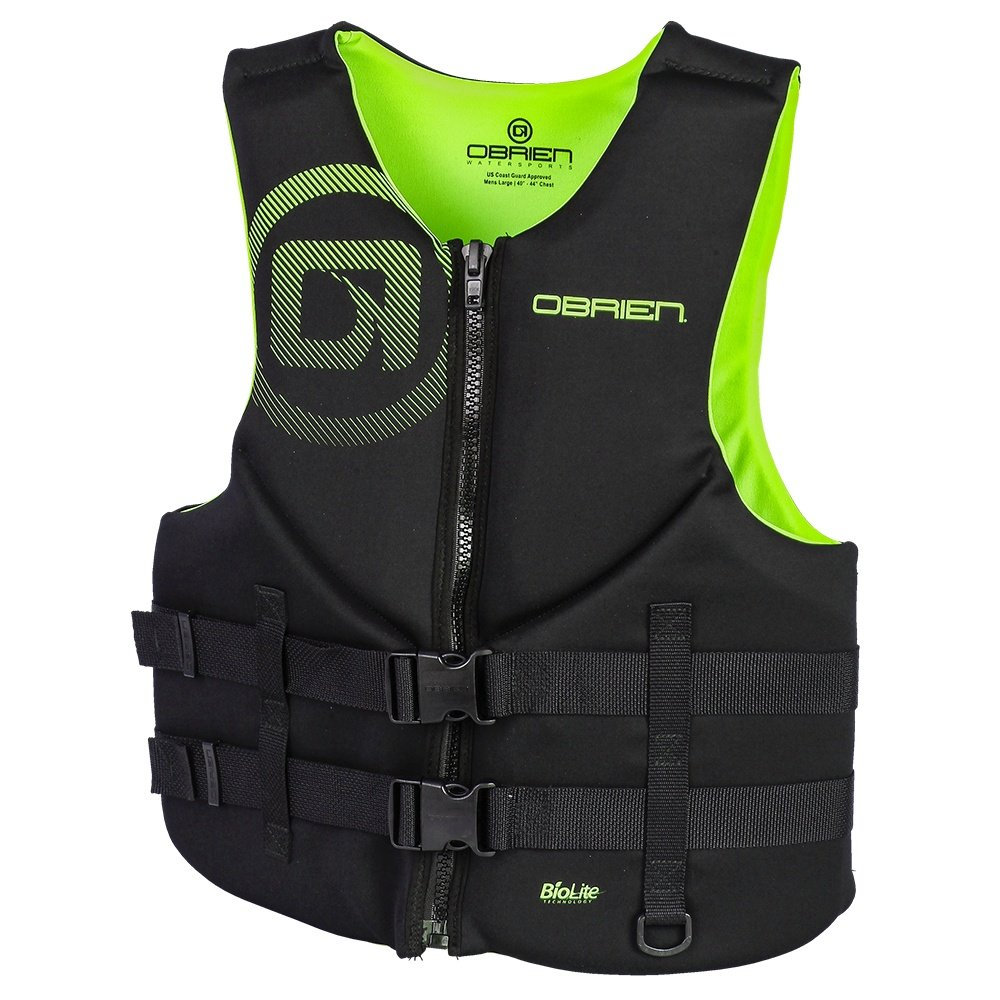 O'Brien Traditional Neoprene Life Vest (Men's) - Margarita
