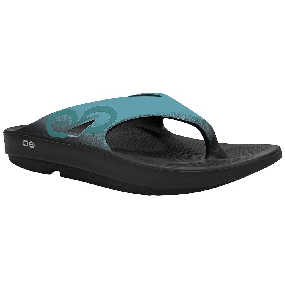 c7083b0fc OOFOS OOriginal Sport Sandal (Adults ) - Aqua Black