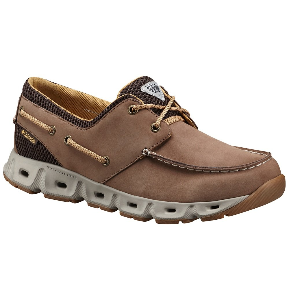 Columbia Boatdrainer III PFG Water Shoe (Men's) - Cordovan