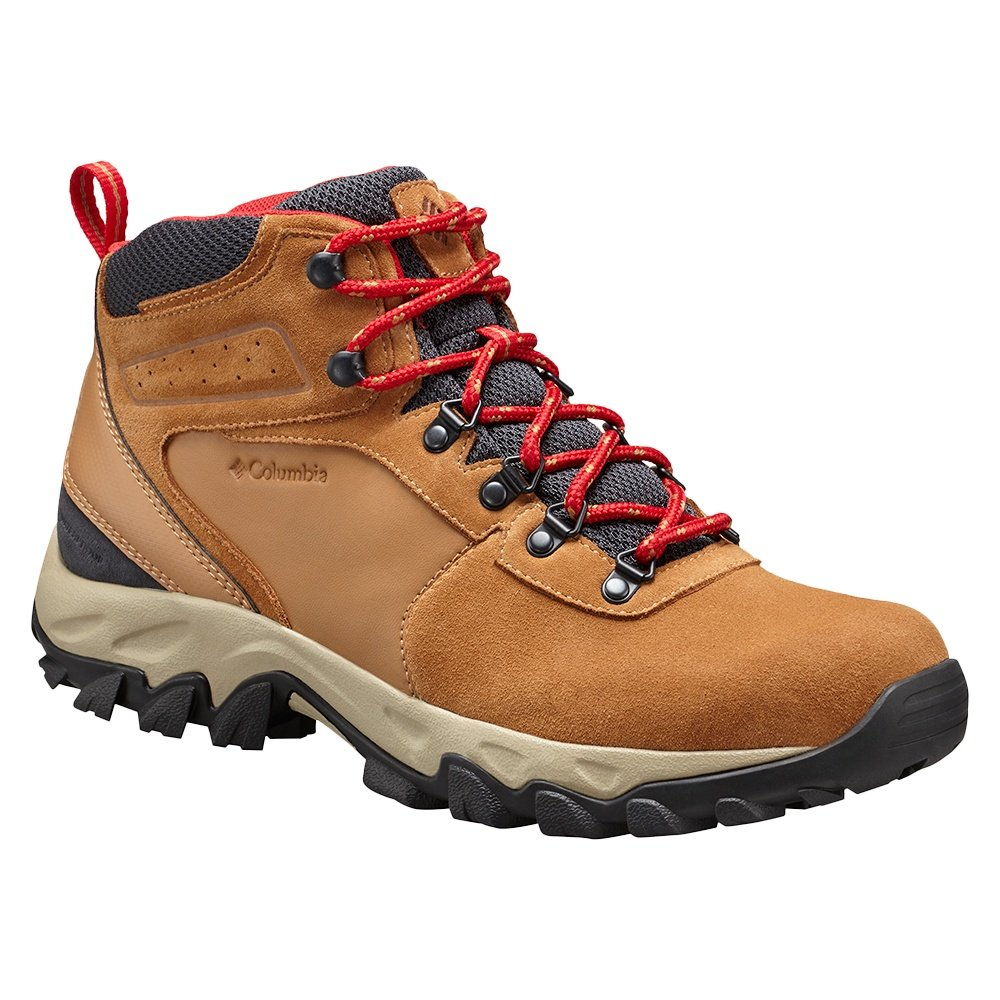 Columbia Newton Ridge Plus II Suede WP Hiking Boot (Men's) - Elk