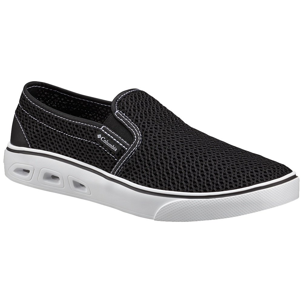Columbia Spinner Vent Moc Shoe (Men's) - Black/White