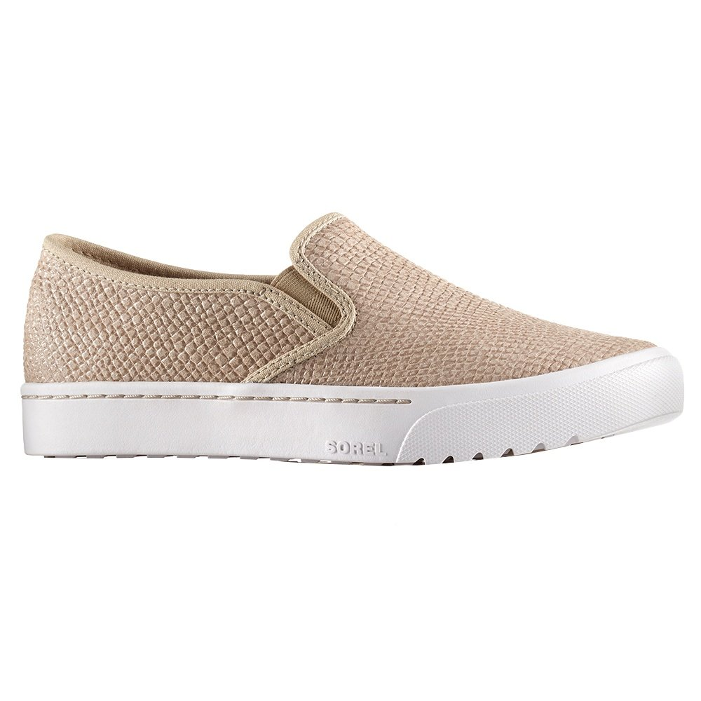 Sorel Campsneak Slip On Shoe (Women's) - Oatmeal
