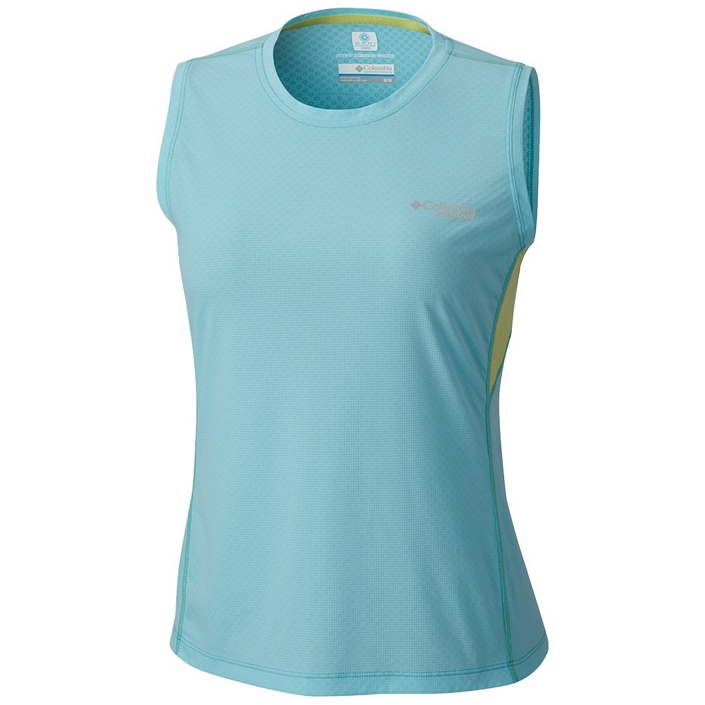 Montrail by Columbia Titan Ultra Sleeveless Shirt (Women's) - Coastal Blue/Neon Light