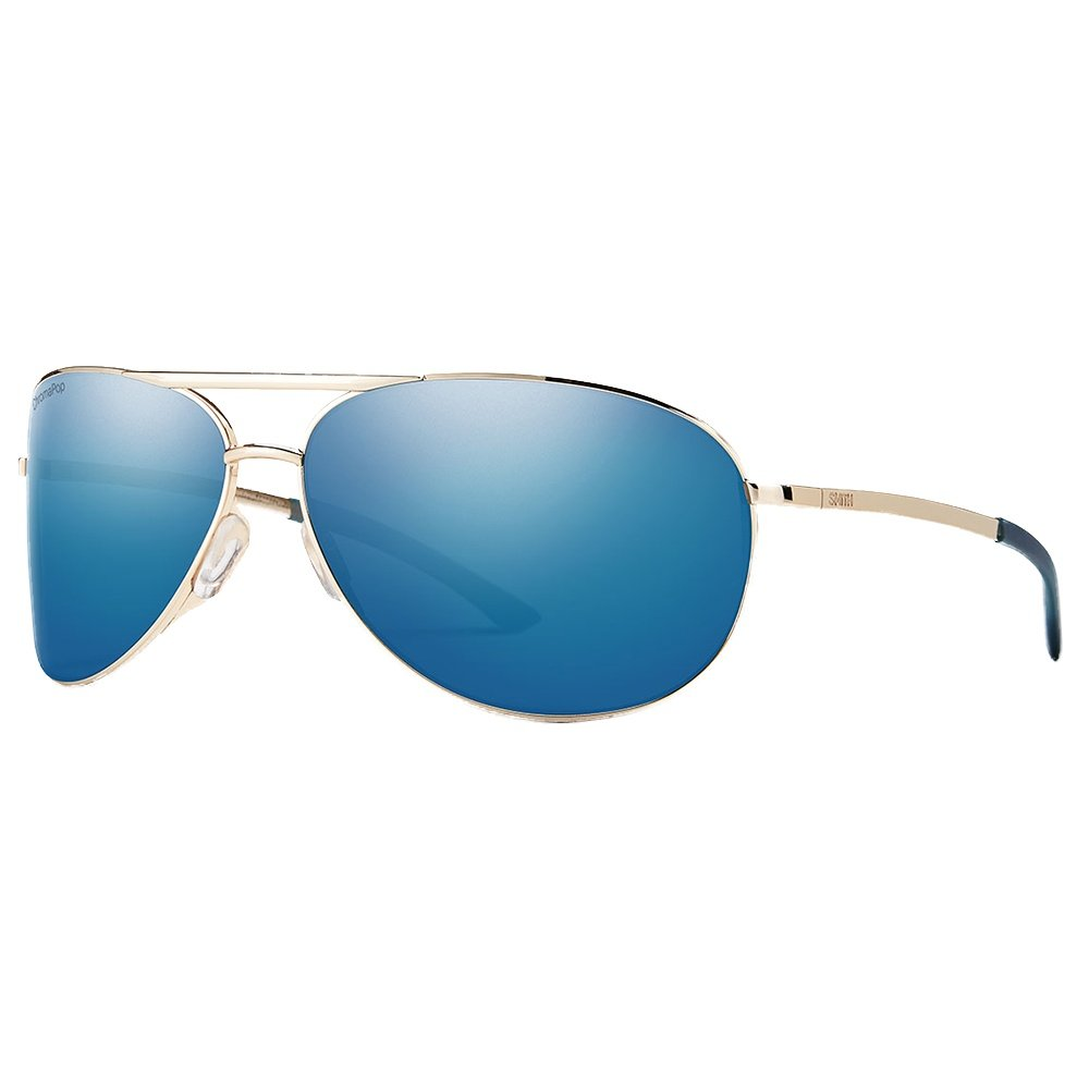 Smith Serpico 2.0 Polarized Sunglasses - Gold