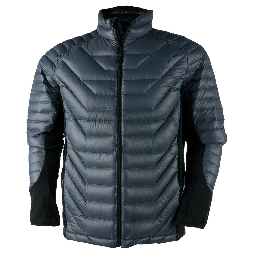 Obermeyer Kinetic Down Hybrid Jacket (Men's) - Graphite