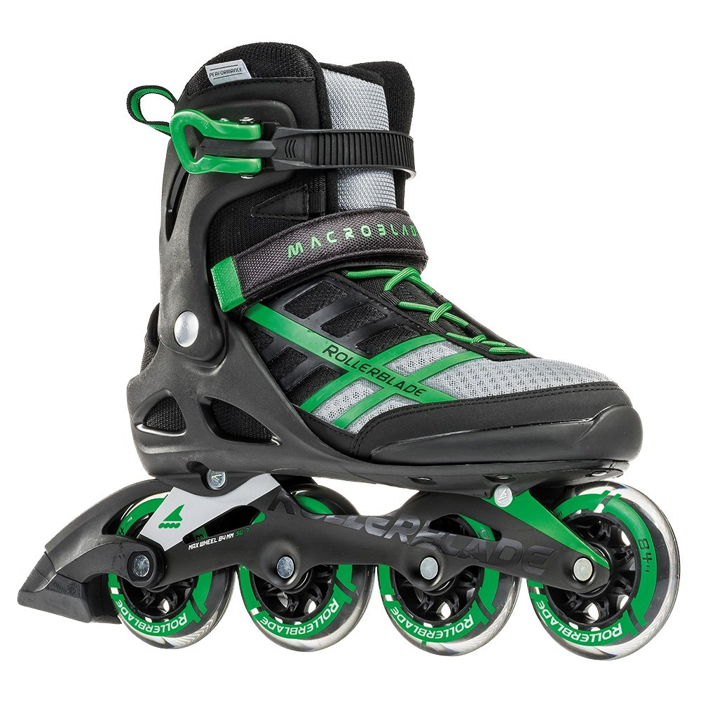 Rollerblade Macroblade 84 Inline Skates (Men's) - Black/Green