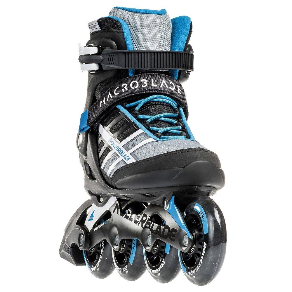 Rollerblade Macroblade 84 Inline Skates (Women's) - Black/Cyan Blue