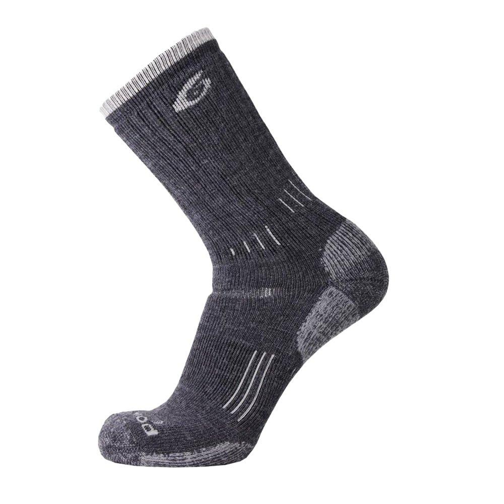 Point6 Medium Crew Sock - Gray