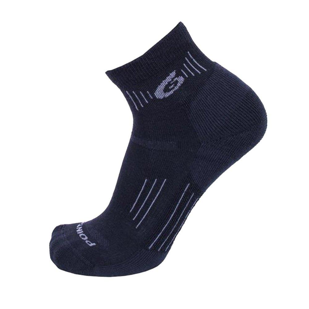 Point6 Light Mini Crew Sock - Gray