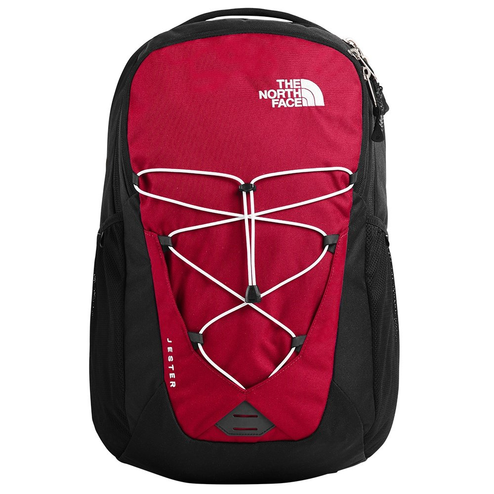 The North Face Jester Backpack (Men's) - TNF Red/TNF Black
