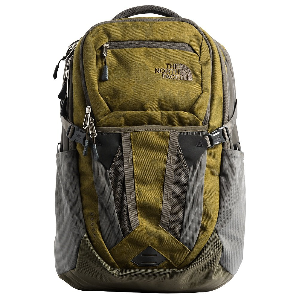 fa02f884f The North Face Recon Backpack (Men's) - Fire Green Camo Print