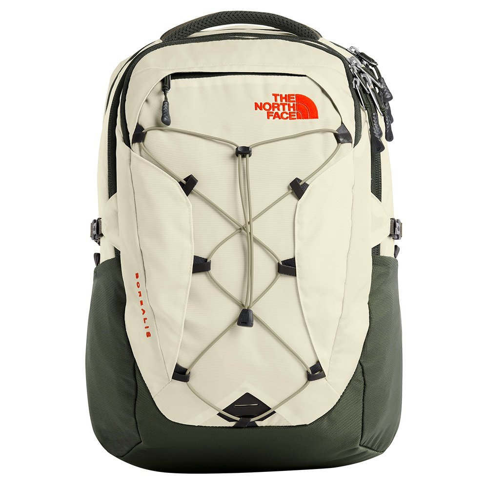 The North Face Borealis Backpack (Women's) - Vintage White/New Taupe Green