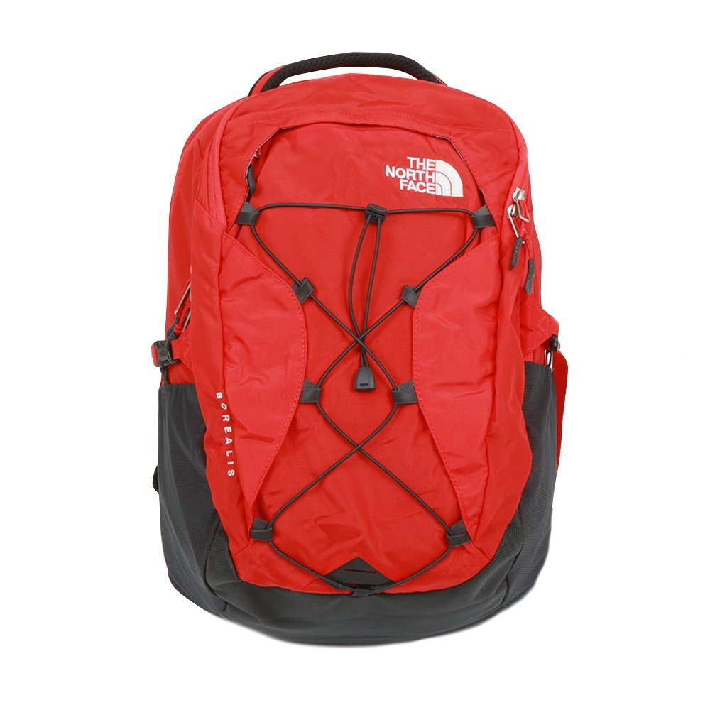 The North Face Borealis Backpack (Women's) - Fiery Red/Asphalt Grey