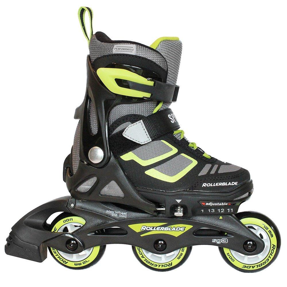 Rollerblade Spitfire XT Inline Skate (Kids') - Lime/Black