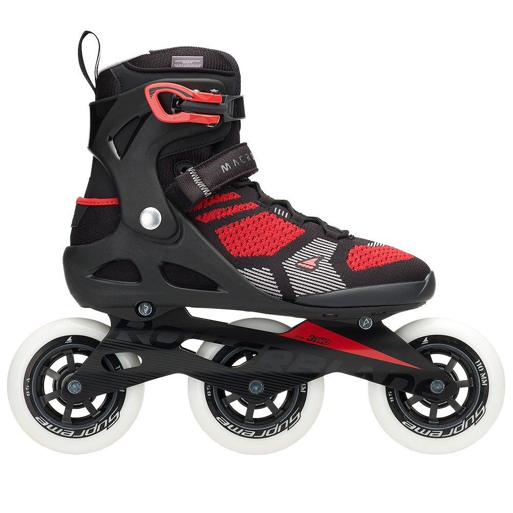 Rollerblade Macroblade 110 3WD Inline Skates (Men's) - Black/Red
