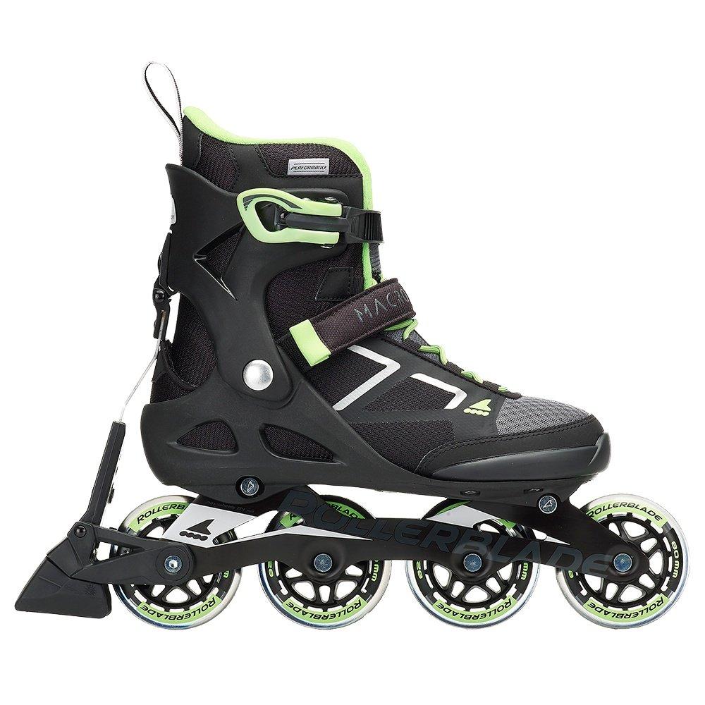 Rollerblade Macroblade 80 ABT Inline Skates (Women's) - Black/Light Green