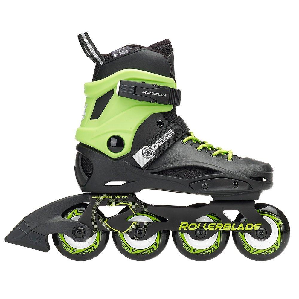 Rollerblade Cyclone Inline Skates (Kids') - Black/Acid Green