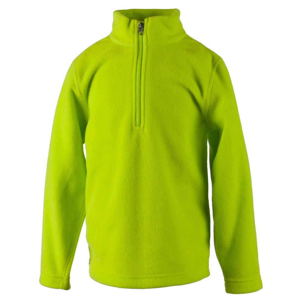 Obermeyer Ultragear 100 Micro Fleece Top (Kids') - Green Flash