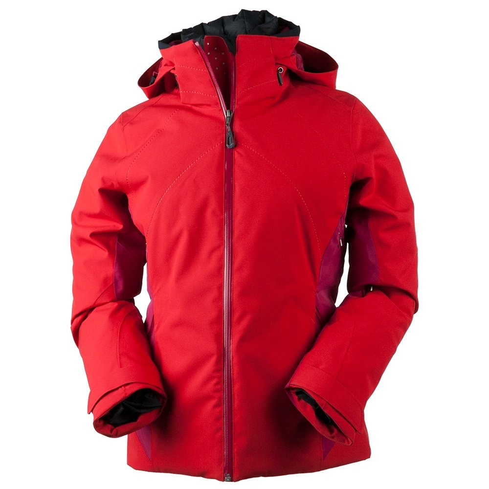 Obermeyer Vivid Insulated Ski Jacket (Women's) - Crimson
