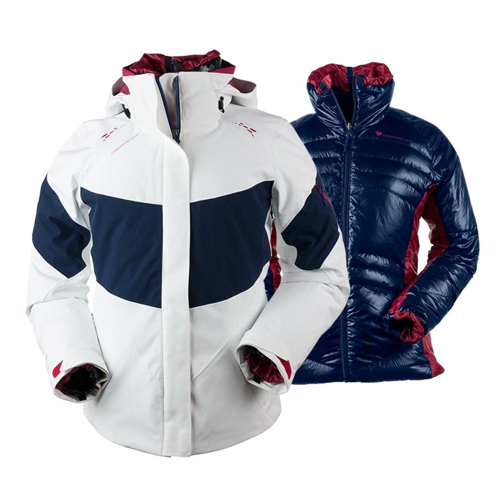 Obermeyer Double Dare 4-in-1 Insulated Ski Jacket (Women's) - White